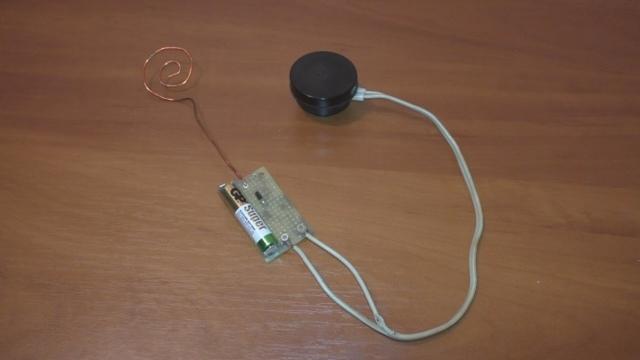 Детектор скрытой проводки своими руками