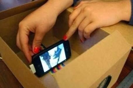 Делаем мини мобильный телепромтер своими руками