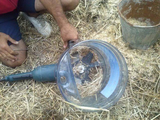 Насадка мельница для болгарки своими руками