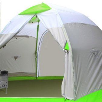 Обогреватель в палатку из масляного фильтра своими руками