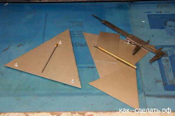 Печка - пирамида своими руками