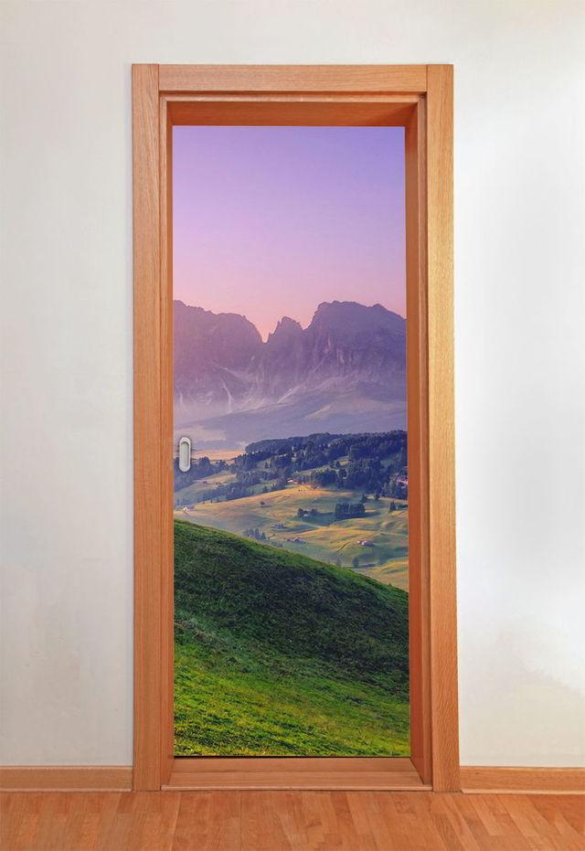 Оригинальная дверь своими руками