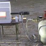 Кузнечный горн из газового баллона своими руками
