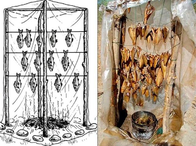 Оригинальная коптильня своими руками для мяса и рыбы