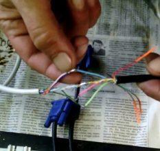Компактная катушка для кабеля из ПВХ труб своими руками