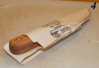 Кожаный чехол для ножа своими руками