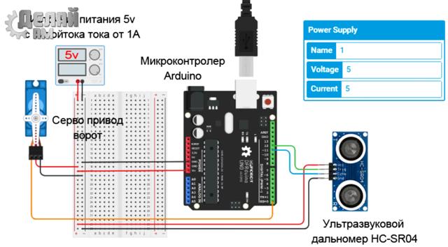 Робопес на arduino своими руками