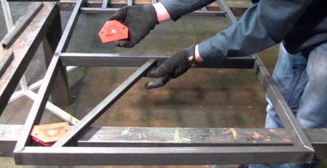 Магнитные угольники для сварки своими руками