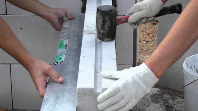 Перегородка из газогребневых плит своими руками