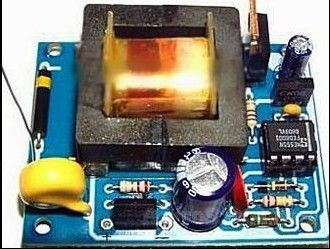 Ионизатор воздуха своими руками (несколько схем)
