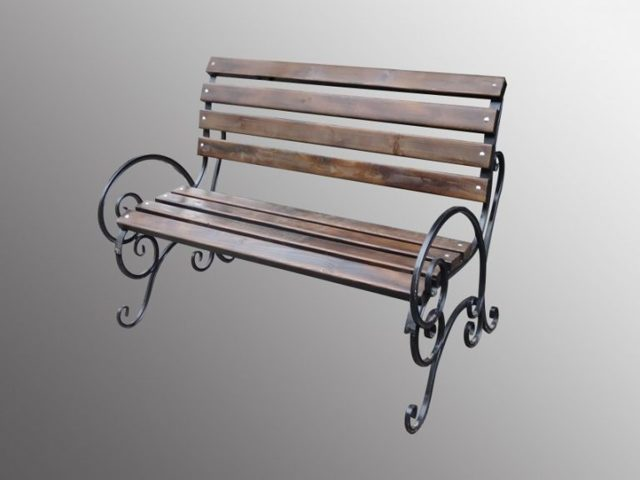 Простая скамейка своими руками
