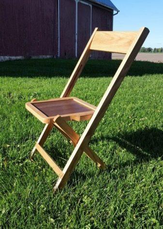 Переносной раскладной стул своими руками