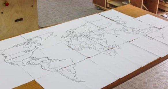 Доска-карта своими руками