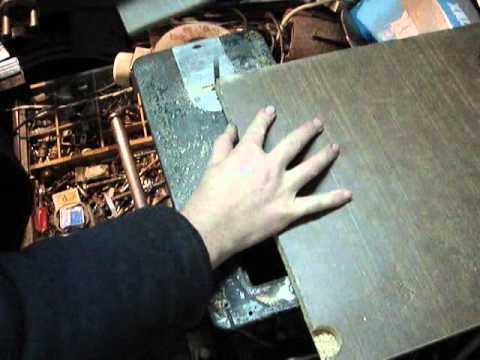 Электролобзик на 12В из дерева своими руками