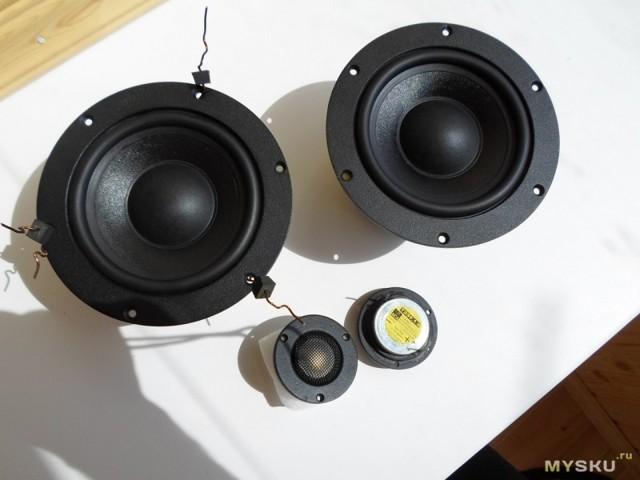 Качественная акустическая система минимонитор  5+1 своими руками