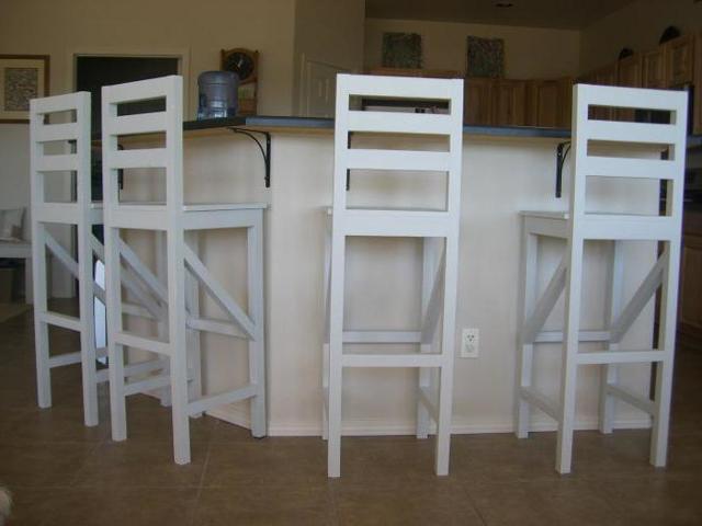 Стильный стул своими руками