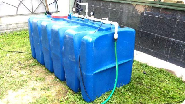 Дачная емкость для воды своими руками