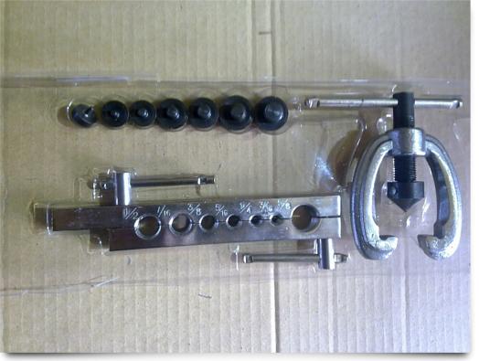 Вальцовка для тормозных трубок своими руками