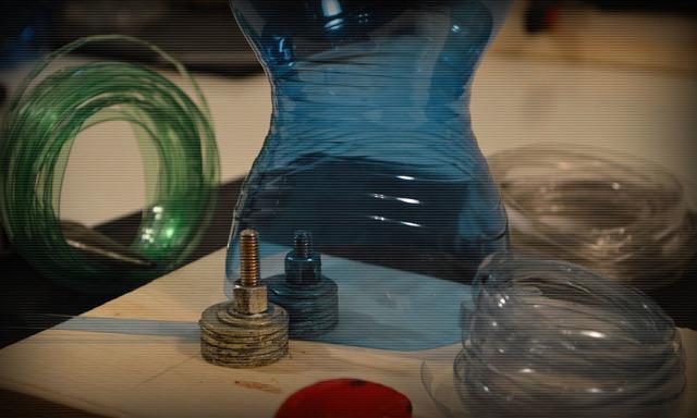 Нити из пластиковой бутылки своими руками