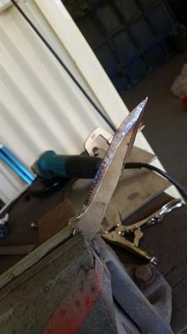 Нож «Бабочка» своими руками