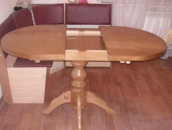 Раздвижной стол своими руками