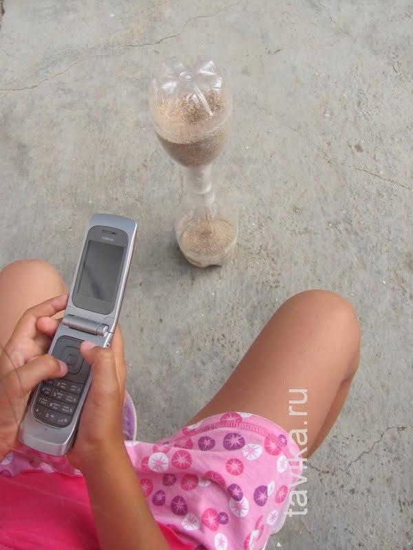 Песочные часы своими руками