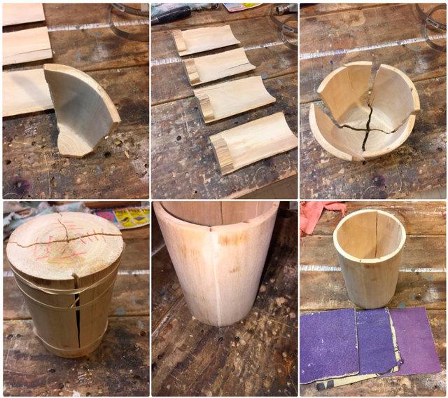 Уникальный деревянный бокал своими руками