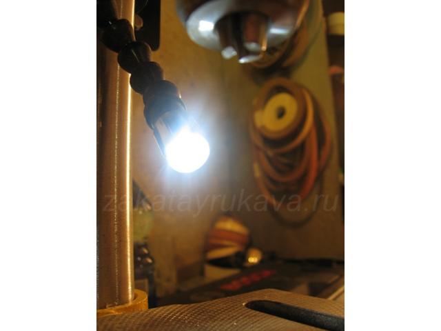 Подсветка для шуруповёрта своими руками