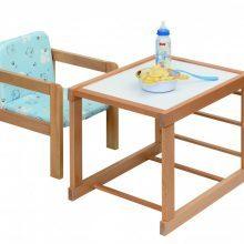 Детский столик со стульчиком своими руками