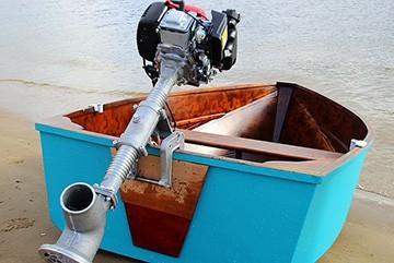 Лодка с парореактивным двигателем своими руками