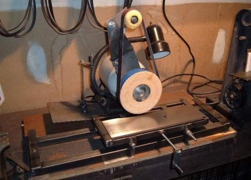 Маленький дисковый шлифовальный станок своими руками
