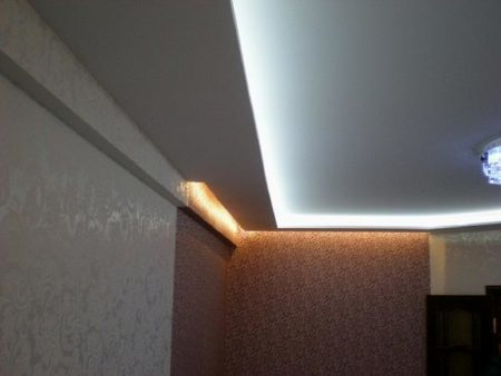 Полки-короба с светодиодной подсветкой своими руками