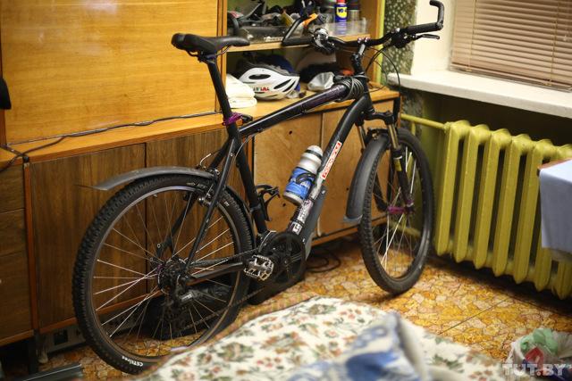 Вешалка для велосипеда своими руками