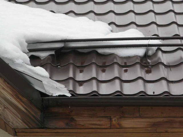 Трубчатые снегозадержатели своими руками