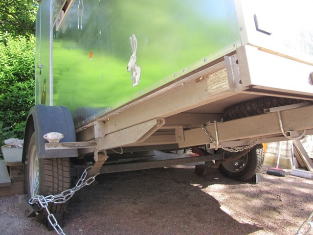 Грузовой фургон на базе легкового прицепа своими руками