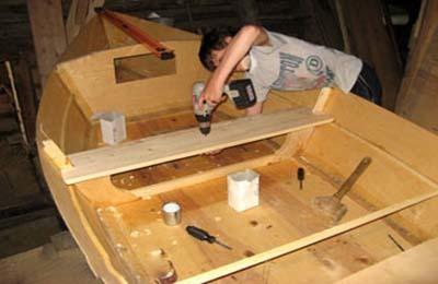 Сборная парусная лодка своими руками