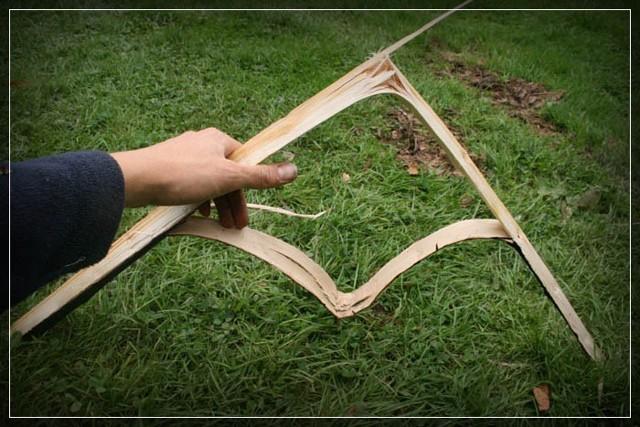 Веревка из коры своими руками