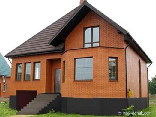 Кирпичный дом своими руками