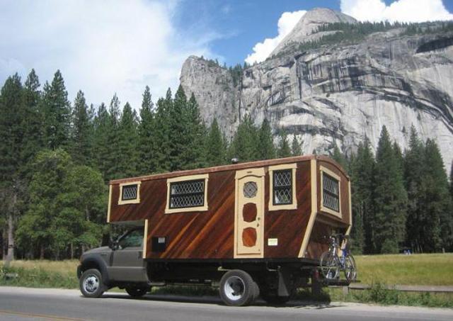 Прицеп кемпер или Цыганский фургон своими руками