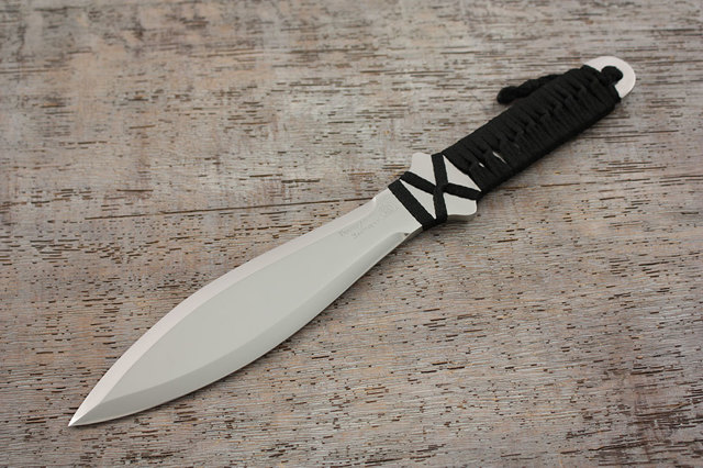 Простой метательный нож своими руками