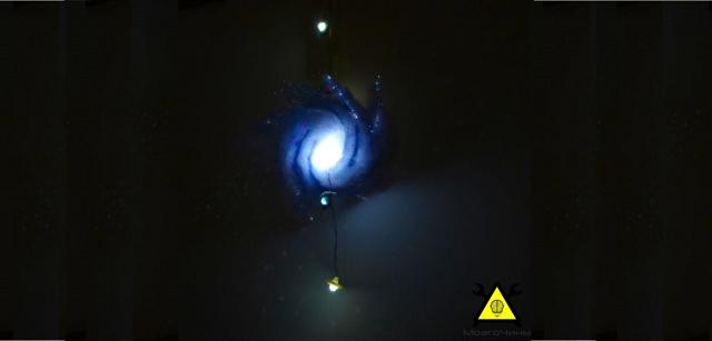 Ночник «Млечный Путь» своими руками