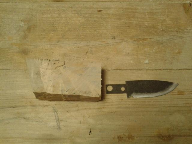 Как сделать охотничий нож своими руками