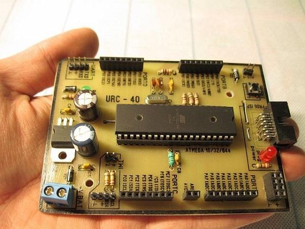 Робот-уборщик на arduino  своими руками