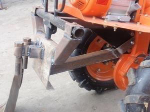 Снегоуборочная лопата на мотоблок своими руками