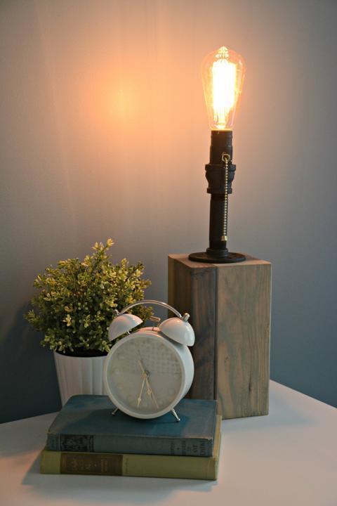 Настольная лампа своими руками