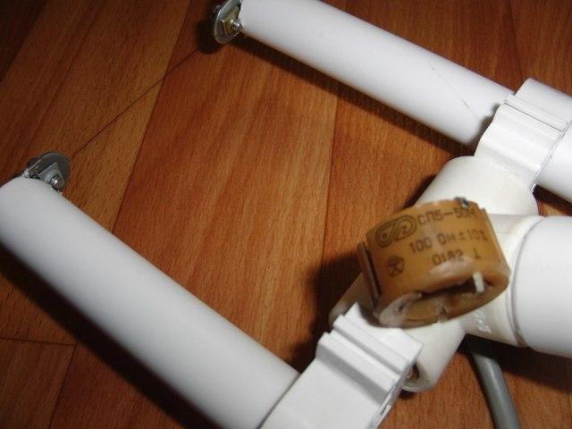 Резак для пенопласта из ПВХ труб своими руками