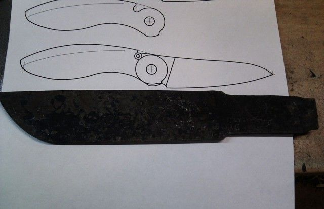 Карманный нож своими руками