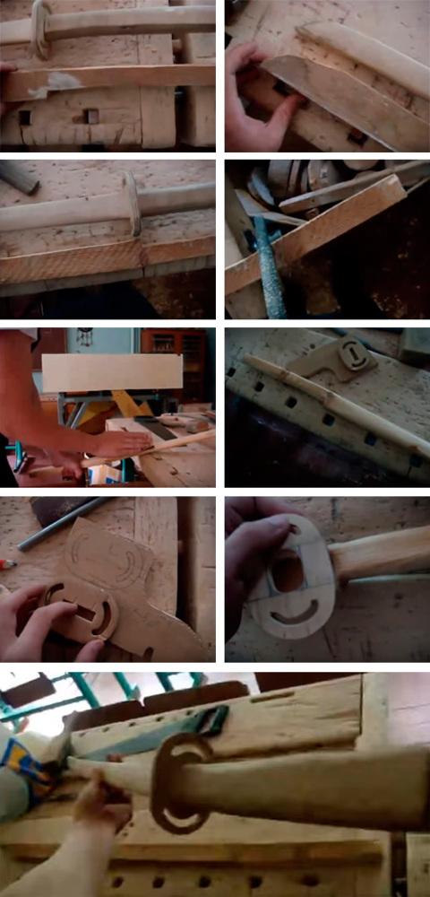 Как сделать деревянный меч за 15 минут своими руками