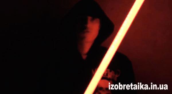 Световой меч джедая своими руками