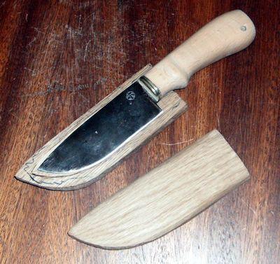 Рукоять для ножа своими руками
